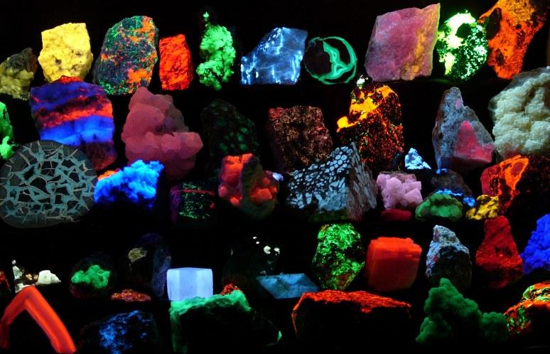 minerale fosforescente