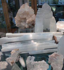 cristale albe