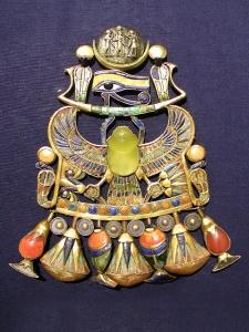pieptarul funerar al lui Tutankhamon