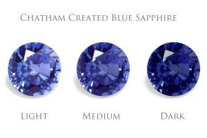 safir albastru-