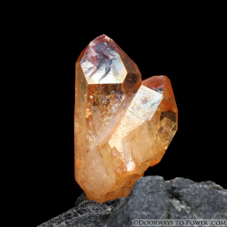 imperialgold quartz;